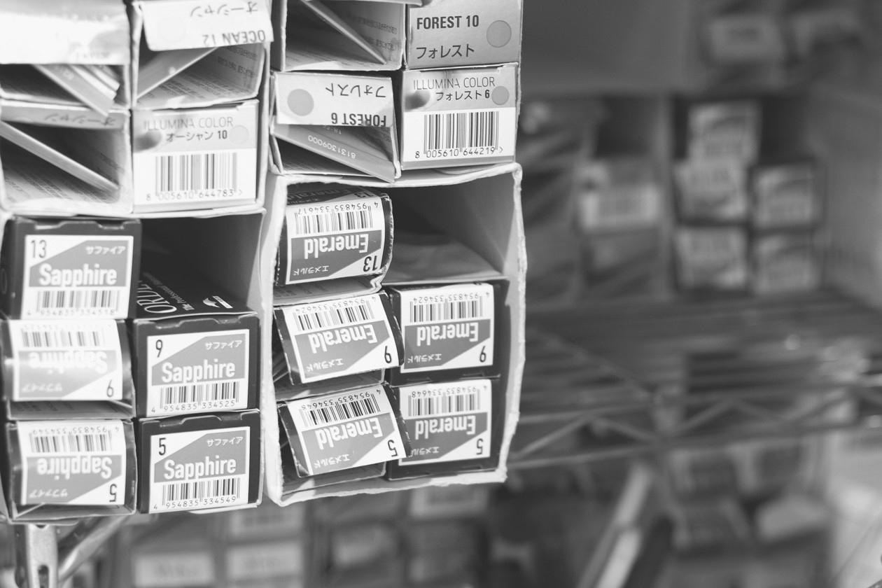 お店に常設している薬剤はもちろん、ご希望の商材を仕入れることも可能。仕入れのサポートOK